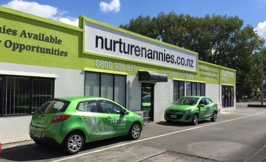 Nurture Nannies Building